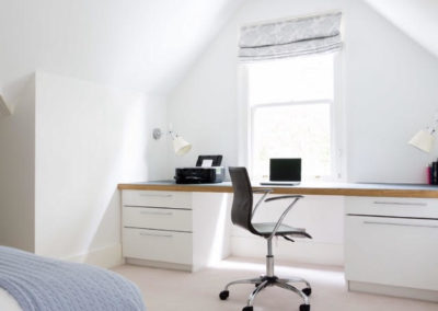 Attic office conversion