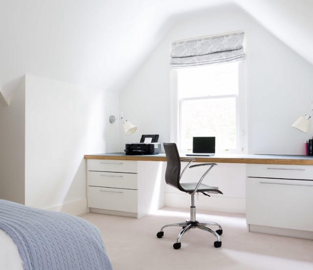 Dublin attic office conversion