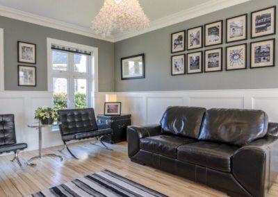 Wall Panelling Dublin Living Room