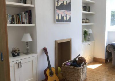 Dublin alcove shelving design
