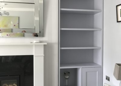 Alcove Shelving Units, Dublin