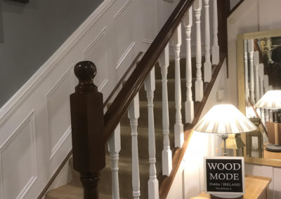 Wall panelling stairs